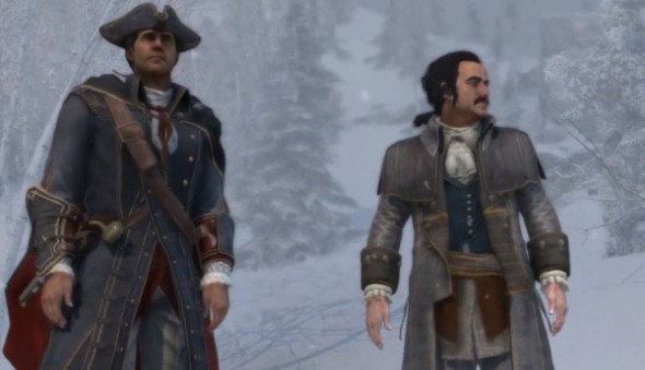 Haytham and Charles Lee