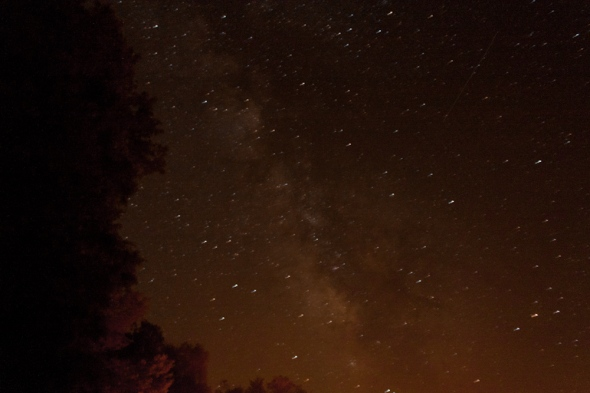ISO 1600, f/3.5, 30 seconds. Lots of stars.